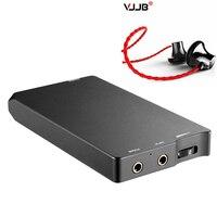 Free Earphone +New XQ 20 HIFI headphone amplifier DAC OPA1652 LMH6643 Mini audio stereo volume control music player Decoding amp