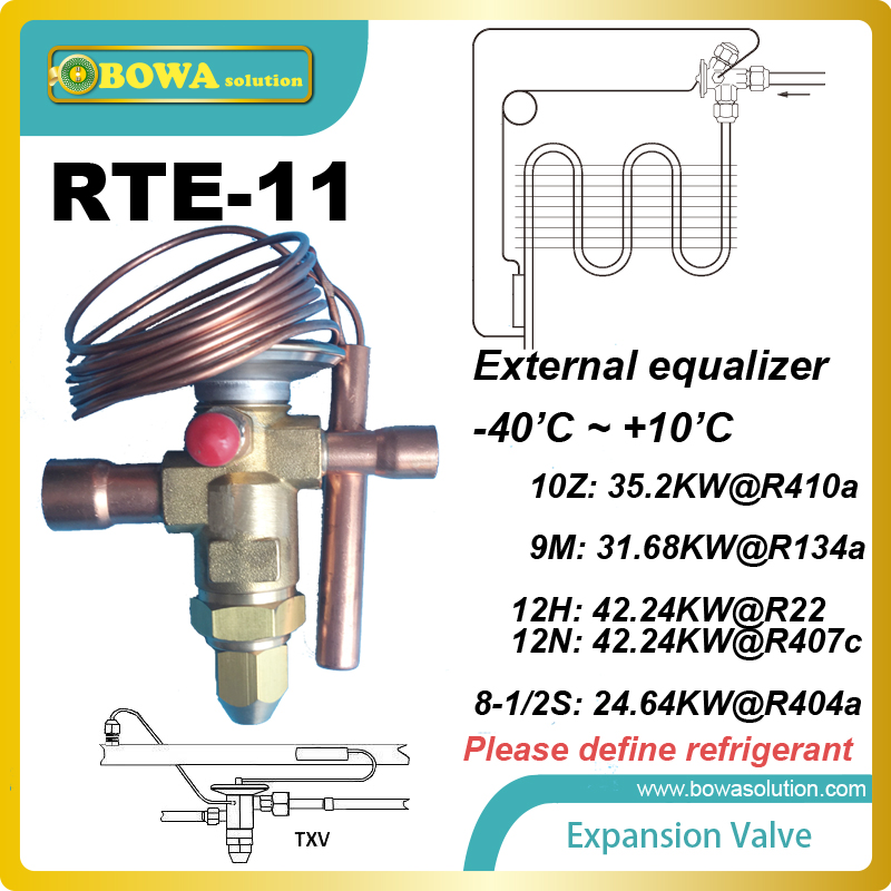 RTE-11 Thermostatic Expansion Valves SILVER SOLDERED CONNECTIONS for leakproof, high strength connection-to-body joint rosenberg rte 400002