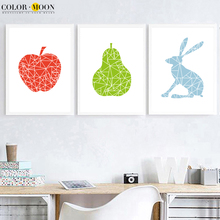 buy pears wall art and get free shipping on aliexpress