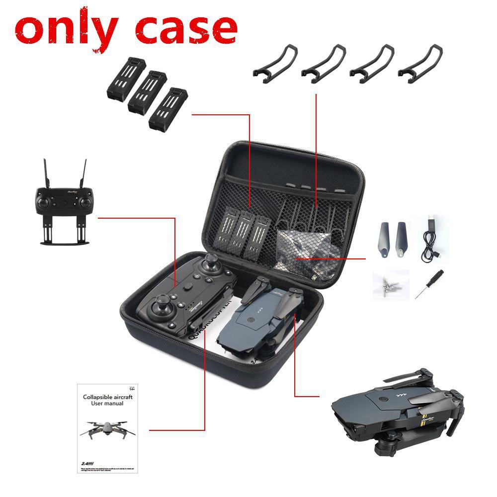 LeadingStar E58/JY018/JY019/GW58/X6/E010/E010S/E013/E50 Foldable Arm RC FPV Drone Handbag Carrying Case Box Bag