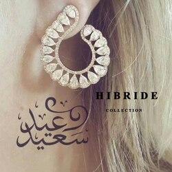 Hibride clear brazil style women stud earrings cubic zircon plant wedding earring brincos fashion jewelry e.jpg 250x250