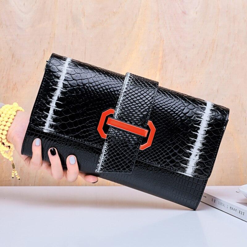 BAQI Brand Handbags Women Shoulder Bag Genuine Leather Cowhide 2019 Fashion Lady Evening Crossbody Messenger Girls