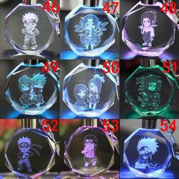Аниме брелок светодиодный кристалл Наруто в ассортименте 1