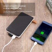 Solare Poverbank Pover Del Telefono Per Xiaomi Banca di Potere Caricabatteria Portatile Mobile Banca di Potere Powerbank 10000 mah Per Iphone