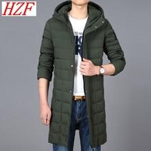 2017 Top Quality Men's Warm Jacket Casual Outerwear Thick Medium Long Winter Coat Men Parka Brand Clothing Plus Size 6XL