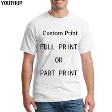 YOUTHUP camisetas personalizadas hombres mujeres impresión completa 3D  Summert camiseta soporte venta al por mayor al por menor . 7d942bb0c891a