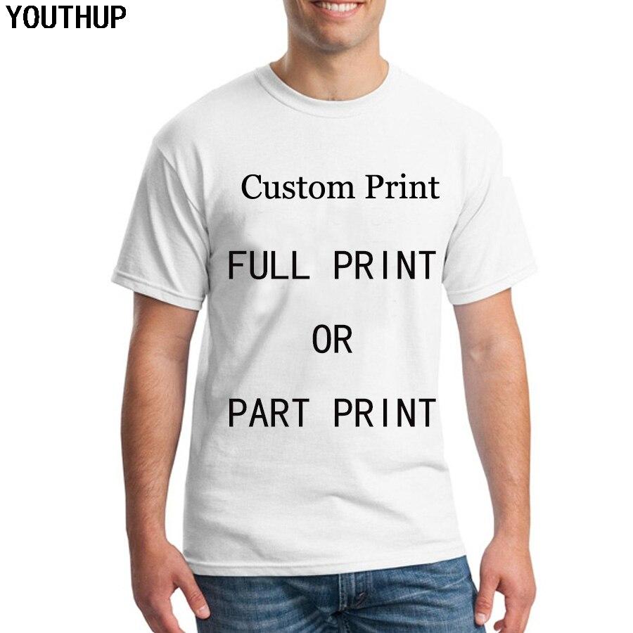 YOUTHUP Individuelles T Shirts Männer/Frauen Volle Druck 3D Summert T-Shirt Unterstützung Großhandel Einzelhandel Dropship Männer Kleidung Custom Plus größe
