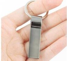 Hot! 2016 Metal Key Ring 8G/16G/32G/64G/128G Usb 2.0 Memory Stick Pen Drive Pendrive Usb Flash Drive Waterproof Free shipping  стоимость