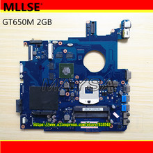 Hohe qualität laptop motherboard Fit für Samsung NP550P7C BA92-09956A BA92-09956B PGA989 DDR3 GT650M 2 GB 100{6b1d8e5c8174d39804674a2bffc45d31ecc656e09868d3aecb71eff0735dd768} Vollständig getestet