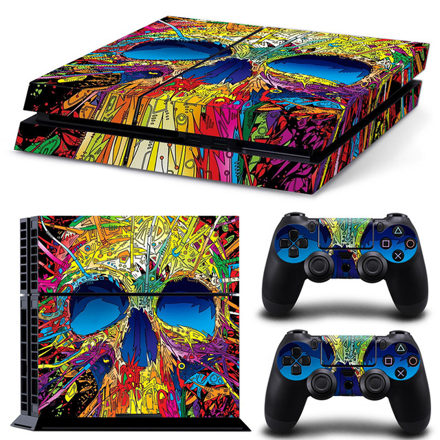 Game Stickers For PS4 Stickers Console Skin PS4 Controller Skins Cover For PlayStation4 Game Accessories 4