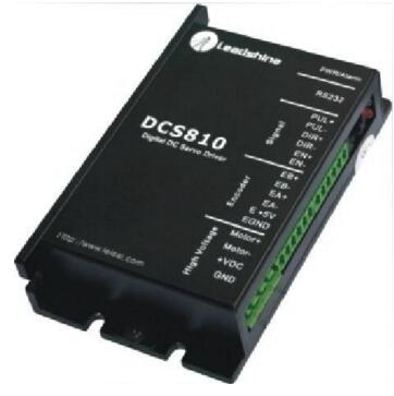 Leadshine DCS810 Brushed Servo Drive with Max 80 VDC Input Voltage and 20A Peak Current leadshine hbs86 easy servo drive with maximum 20 80 vdc input voltage and 8 5a peak current