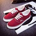Холст Обувь Повседневная Обувь Женская Мода Женщина Скейтборд Женские Плоские туфли