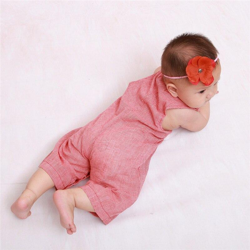 Divat baba karácsonyi rompers fiú lány ujjatlan mellény Mikulás - Bébi ruházat - Fénykép 2
