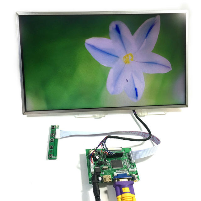 HDMI + VGA + 2AV Управления доска + 15.6 дюймовый 1366*768 Жк-панель LTN156AT02 LP156WH2 LTN156AT02 LP156WH2 LP156WH4 BT156GW02 N156B6