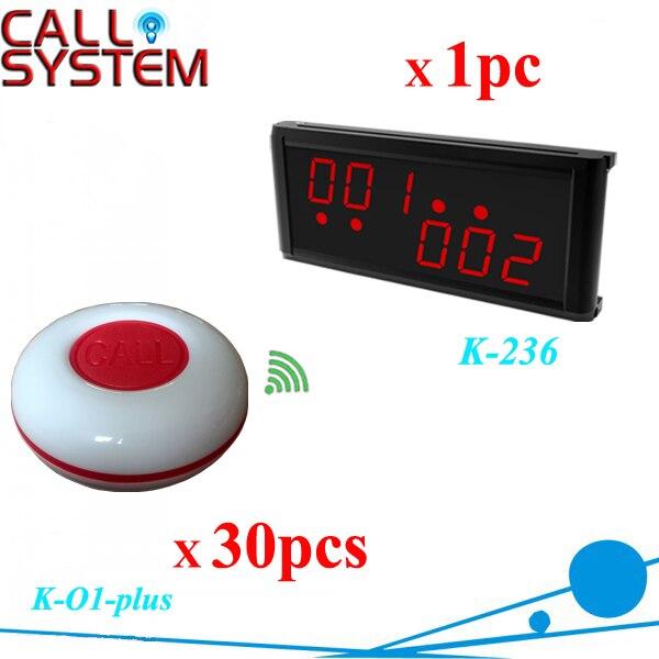 Prodotto descritto un display monitor con 30 tasti di chiamata a distanza sistema ristorante tavolo di chiamata