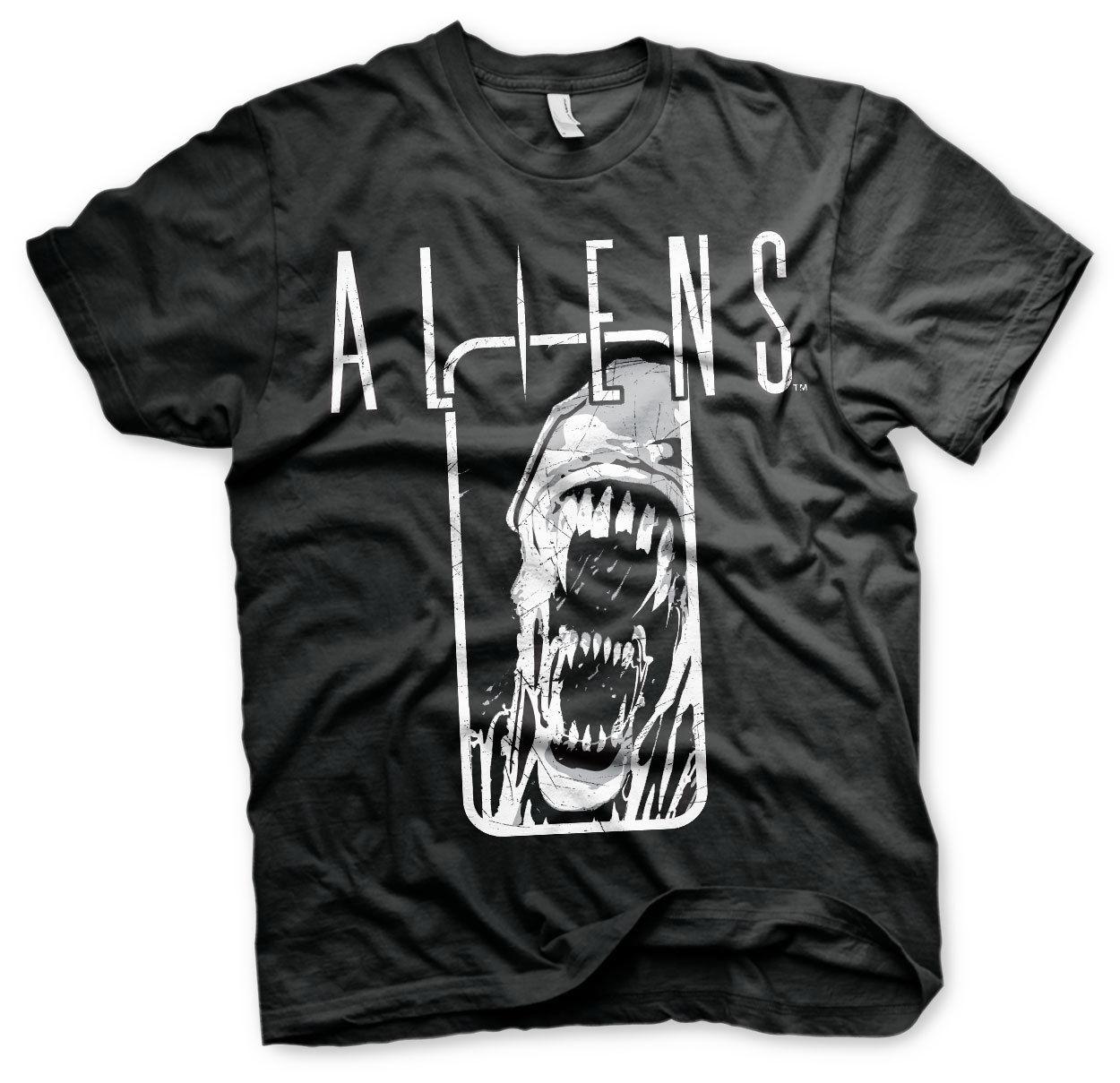 Print Men T Shirt Summer Aliens Distressed Men's T-Shirt S-XXXL Sizes T-Shirt