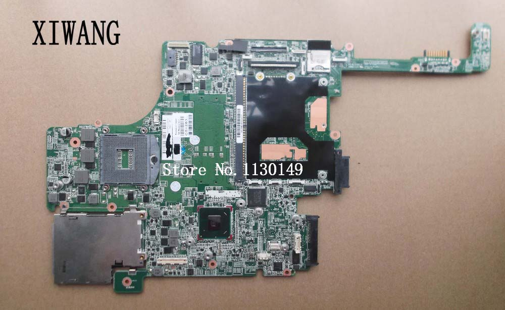 652637-001 Free Shipping For HP Elitebook 8560w motherboard Series laptop Notebook motherboard system board working Perfect