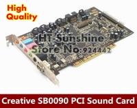 1PCS LOT For Creative Sound Blaster Audigy SB0090 PCI 5 1 Sound Card