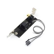 Saída de áudio digital SPDIF RCA PARA FORA do Suporte de Cabo Placa mainboard para ASUS Gigabyte MSI Motherboard