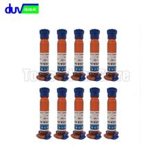 10pcs/lot TP-2500 LOCA UV glue liquid optical clear adhesive fresh tp 2500 uv tp2500 for touch screen samsung galaxy iPhone