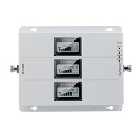GSM 900MHZ 1800MHZ 2100MHZ External Outdoor Repeater Signal Amplifier Portable Size Mobile Phone Signal Amplifier