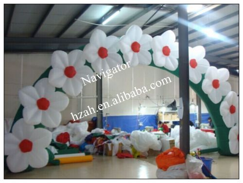 Wedding Use Inflatable Flowers Arch