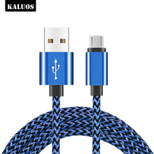 KALUOS 3m Micro USB Charging Cable for Huawei Mate 7 8 P8 honor 6 Samsung S6 S7 Edge LG G3 G4 Android Phone Charger Cables