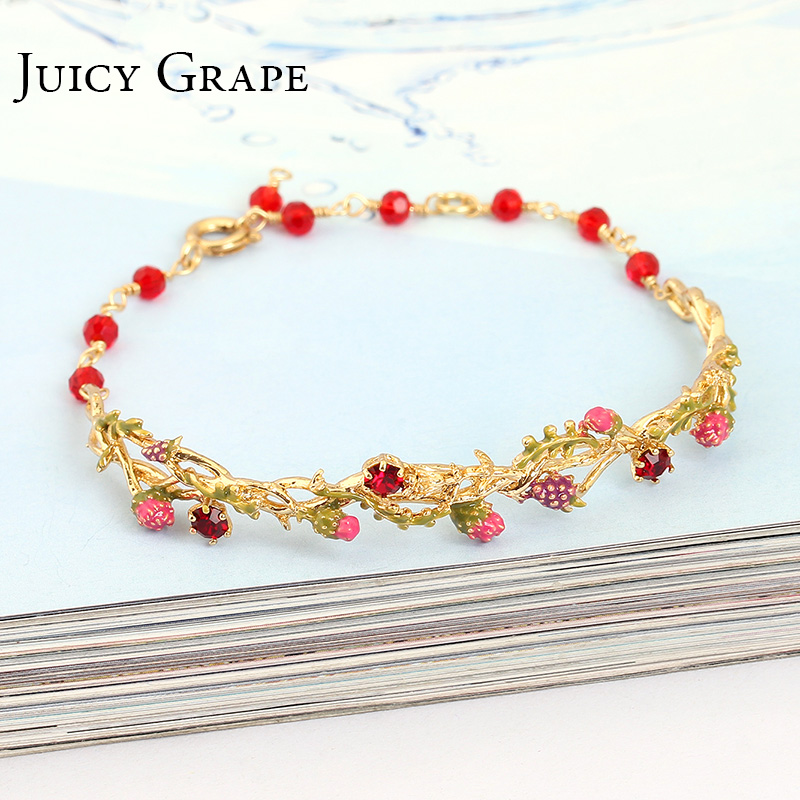 Juicy Grape Enamel Bracelet...