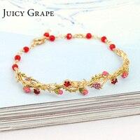 Magic Plants Series Flowers And Vines Bracelet Women Noble Graceful Jewelry