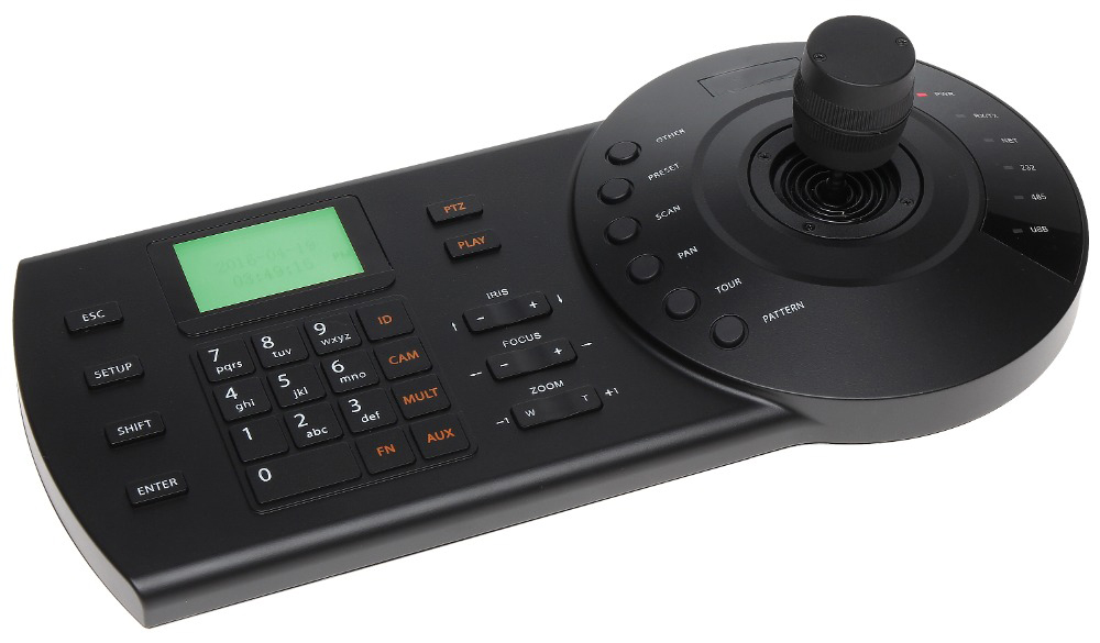DH NKB1000 3D Joystick for CCTV Speed Dome PTZ Camera and DVR Built in LCD Display without logo DH Joystick keyboard DH NK