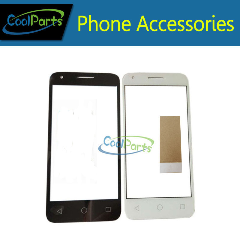 1PC/Lot 4.5''For Alcatel One Touch Pixi 3 4.5 5019 5019D 5019A OT5019D OT 5019D 5019A OT5019 Outer Touch Panel Front Glass Lens