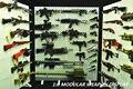 1/6 Масштаб Оружие Оружие Модель Стенд Набор Полка (Оружия не включены) Для Фигурку Аксессуары