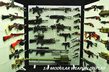 1/6 Scale model TOYS Hobbies Modular Weapon Guns Display Stand Set Shelf (Weapons not included) For Action Figure Accessories