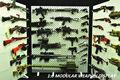 Escala 1/6 Pistolas Modelo Del Soporte de Exhibición Estante de Armas (Armas no incluido) Para la Figura de Acción Accesorios