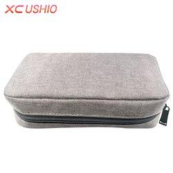 Waterproof Travel Digital Device Storage Organizer Portable Power Bank USB Data Cables Storage Bag Makeup Cosmetic Bag
