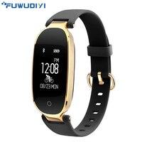FUWUDIYI S3 Smart Wristbands Women Fitness Bracelet Heart Rate Monitor Fitness Bracelet Band Gift To Lady