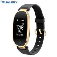 FUWUDIYI S3 Smart Wristbands Women Fitness Bracelet Heart Rate Monitor Fitness Bracelet Band Gift To Lady