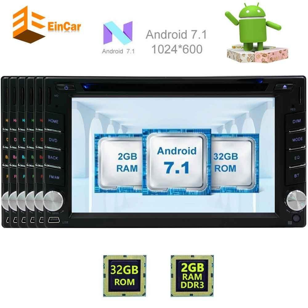 2 два Дин Android 7.1 аудио автомобиля и сенсорный экран DVD GPS Радио Навигация развлекательная поддерживает Bluetooth/OBD2/WI-FI /Зеркало Ссылка