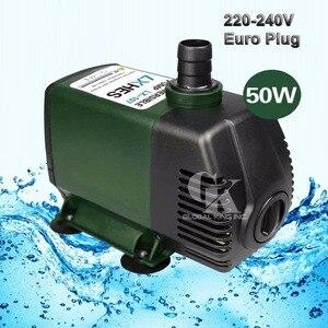 Погружной водяной насос для аквариума, 220 В, мощный фонтанчик, 4000л/ч, 50 Вт