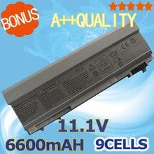 11,1 V 6600 мАч 9 ячеек Батарея для Dell Latitude E6400 E6410 E6500 E6510 точность M2400 M4400 M4500 M6400 M6500 E8400