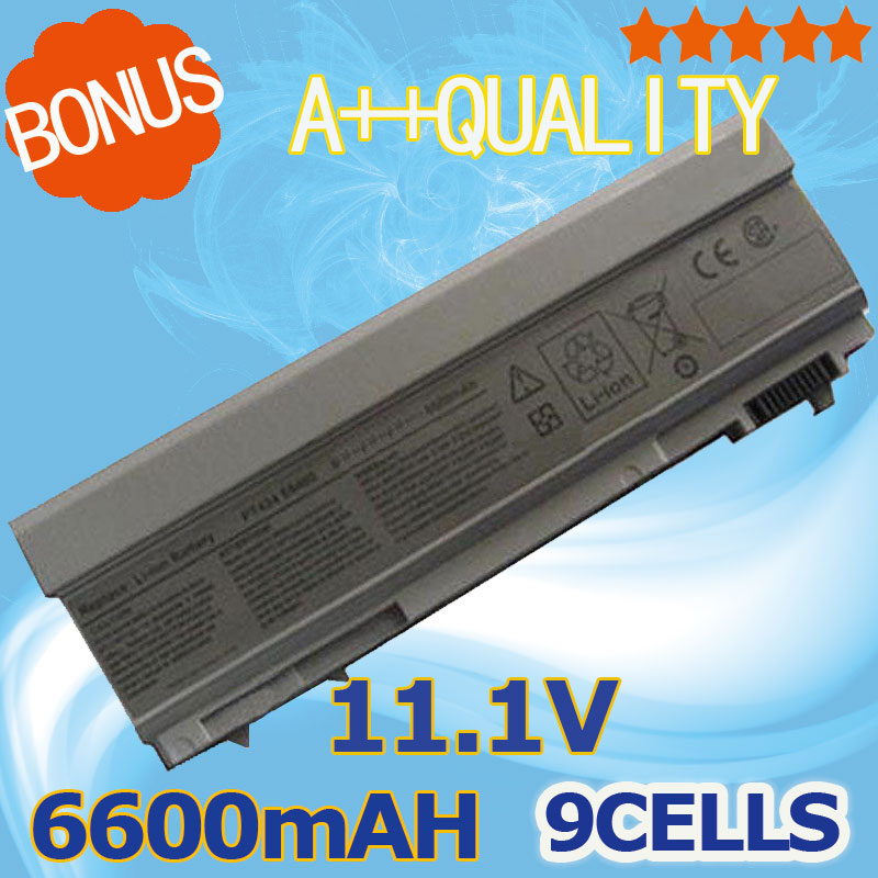 11.1V 6600mAH 9 cells Battery for Dell Latitude E6400 E6410 E6500 E6510 Precision M2400 M4400 M4500 M6400 M6500 E8400 image