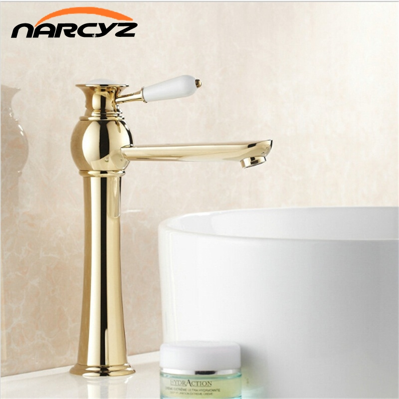 New Arrival Bathroom Basin Faucets Golden Finish Mixer Taps Single Hole Torneira Banheiro XT807New Arrival Bathroom Basin Faucets Golden Finish Mixer Taps Single Hole Torneira Banheiro XT807