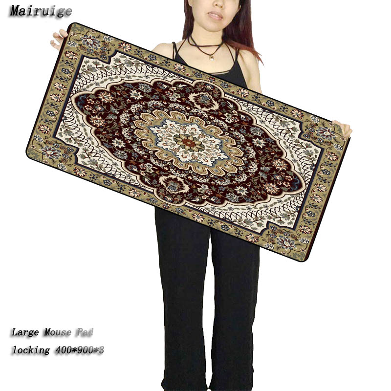 Mairuige Persian Carpet Gaming Rubber Computer Large Mouse Pads Laptop Keyboard Mat for League of Legends LOL Free Shipping