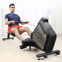 P110 16-Gear Magnetic Control Resistance Rowing Machine Home GYM Body Glider Abdominal Pectoral Arm Training Fitness Equipment