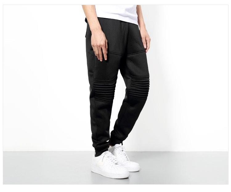 Men Sport Pant Space Cotton Joggers Harem Pants Fashion Hiphop Sport Tracksuit Mens Solid Black Jogging Trousers Sweatpants 3XL (5)
