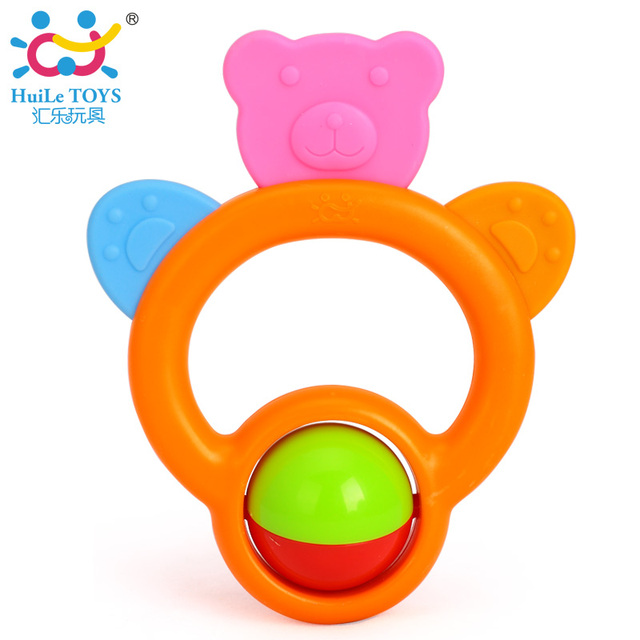 1 pc Teether & Rattles Safety Baby Toys Infant Movel Brinquedos Bebe Mordedor Chocalho Gifts Free Shipping Huile Toys 919-1
