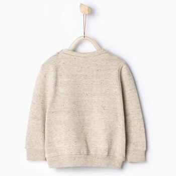 Little maven children brand clothing autumn spring boys clothes cotton long sleeve O-neck lovely deer t shirt kids tops CT008