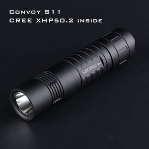 Black Convoy S11 with XHP50.2 / SST40 LED