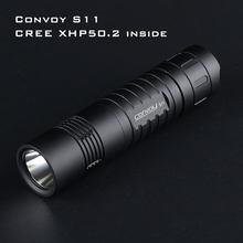 Comboio preto s11 com xhp50.2/sst40 led, 26650 lanterna, luz da tocha