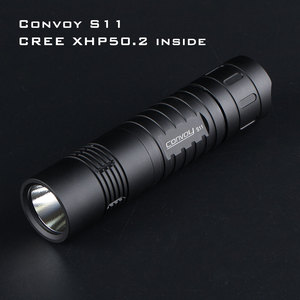 Black Convoy S11 with XHP50.2 / SST40 LED(China)